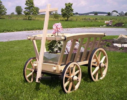 Amish Old-Fashioned Replica Goat Wagon