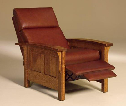 Amish Heartland Panel Recliner