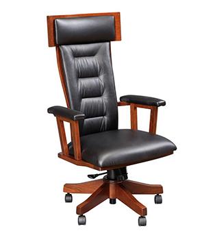 Amish Royal Desk Arm Chair