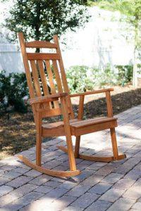 Amish Pine Wood Classic Porch Rocker