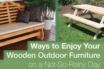 Outdoor Wooden Furniture Blog Post