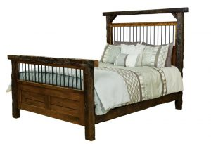 Reclaimed Barn Wood Bed