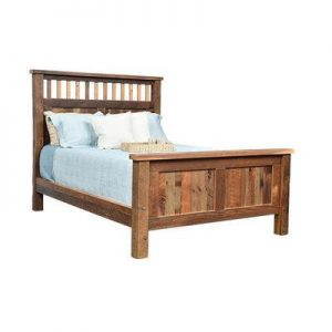 Reclaimed Barnwood Savannah Bed