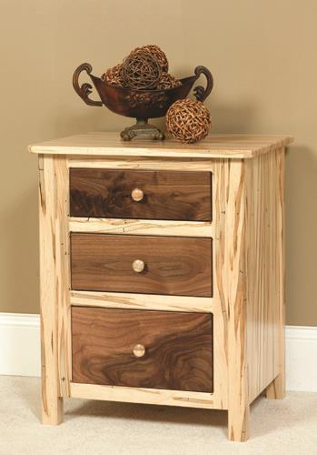 Amish Cornwell 3-Drawer Nightstand