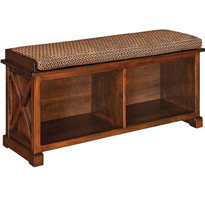 Amish Dexter Bench Seat
