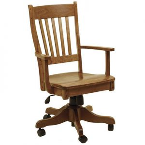 Amish Frontier Gas Lift Desk Chair