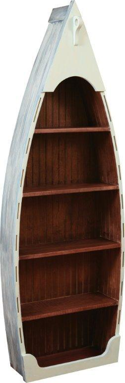 Amish Lake Placid Boat Bookcase