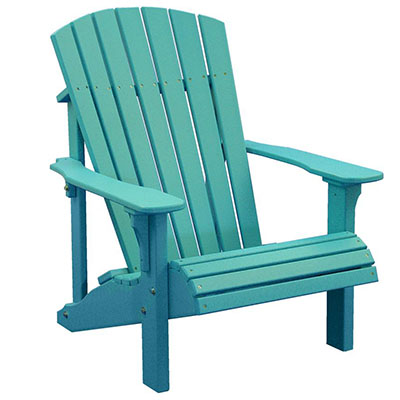 Amish LuxCraft Poly Wood Deluxe Adirondack Chair