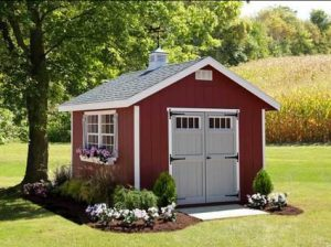 Amish Made Homestead Shed Kit