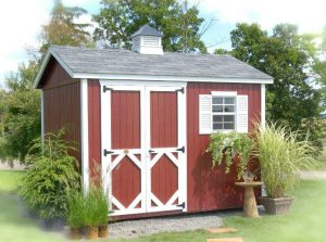 Amish Wood Classic Workshop Shed