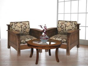 Amish Countryside Mission Lounge Chair