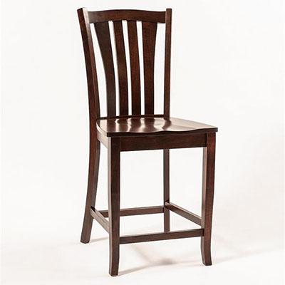 amish harris bar stool