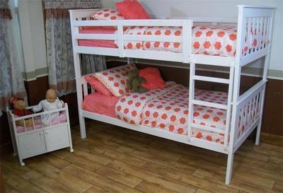 Amish Kids' VersaLoft Twin Bunk Bed