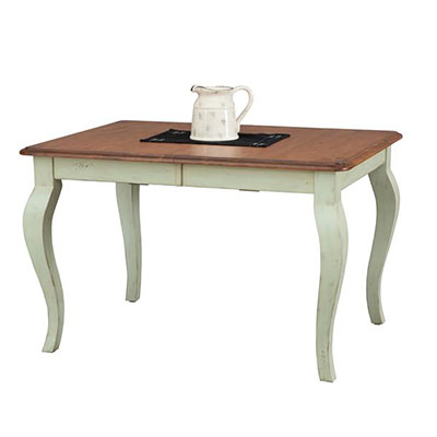 amish vintage french country dining room table