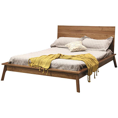 hastingwood mid century modern panel bed