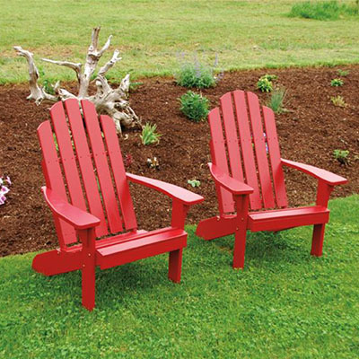 Amish Pine Wood Kennebunkport Adirondack Chair