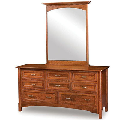 west lake amish made dresser with eight drawers