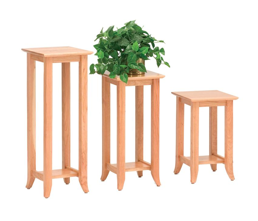 amish shaker hill plant stand end table