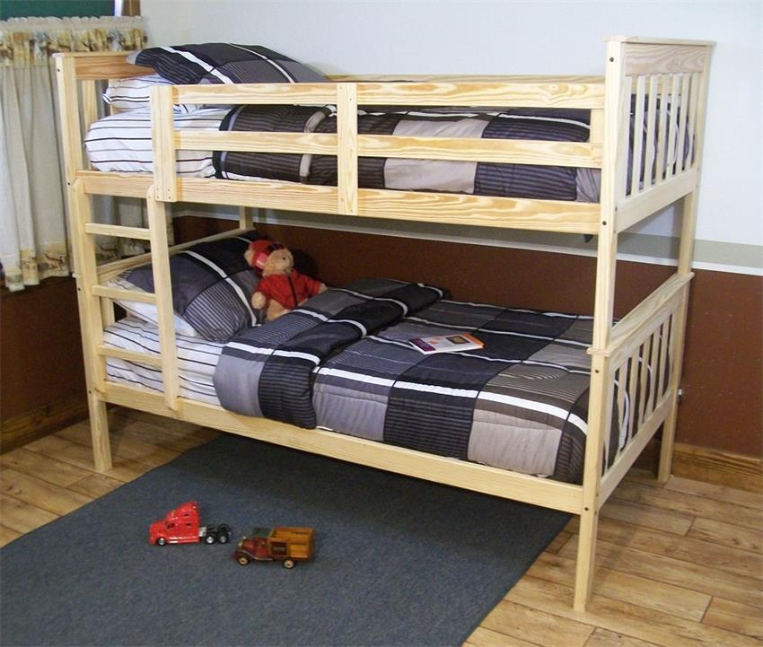 amish kids versaloft twin bunk bed