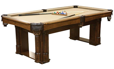 Amish Handcrafted Regal Billiard Table