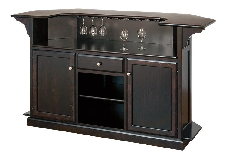 Amish Caledonia Indoor Home Bar