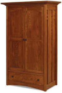 Amish Kascade Wardrobe Armoire