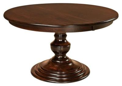 Amish Kingsley Single Pedestal Table