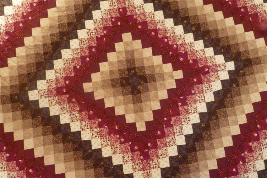 Sunshine and Shadow Amish Quilt