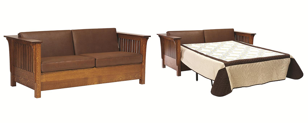 Amish Mission Prairie Sofa Bed