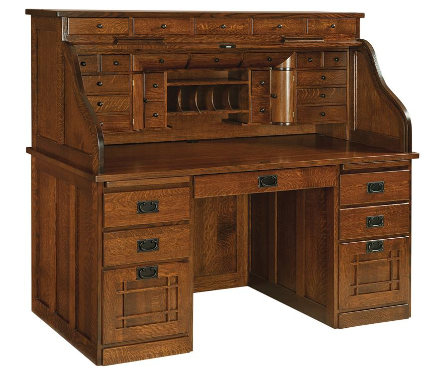 history of the roll top desk timber to table. Black Bedroom Furniture Sets. Home Design Ideas