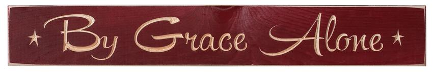 american made by grace alone inspirational print