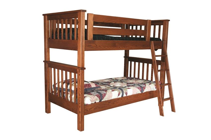 Amish Miller's Mission Bunk Bed