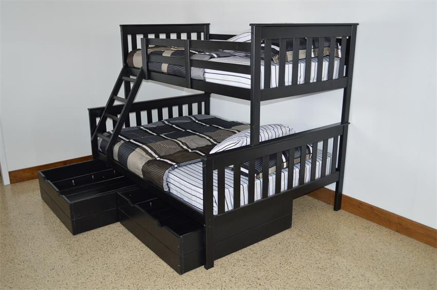 Amish Kids' VersaLoft Twin-Over-Full Bunk Bed