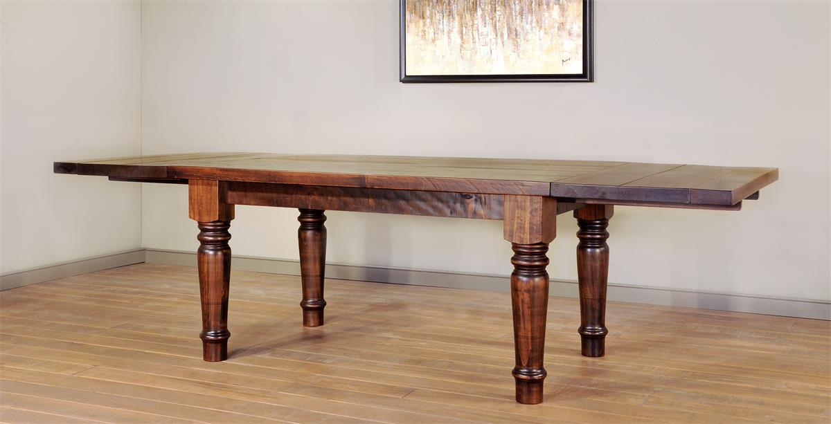Ruff Sawn Tahoe Dining Table