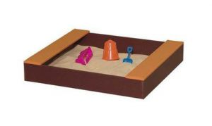 American Made 3 Square Poly Sandbox