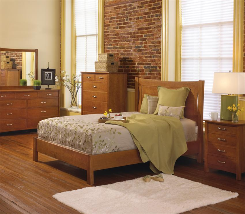 Amish Transitions Sleigh Bed by Keystone