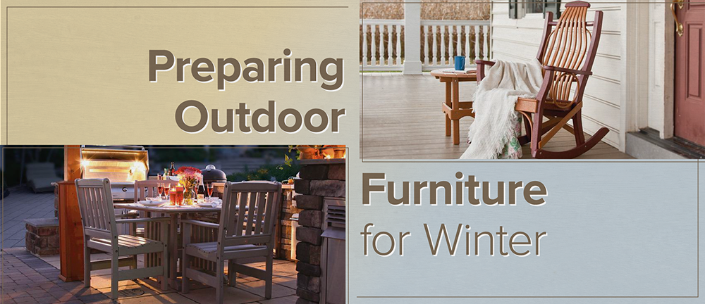Preparing Outdoor Furniture for Winter