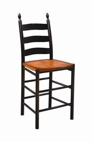 amish shaker bar stool