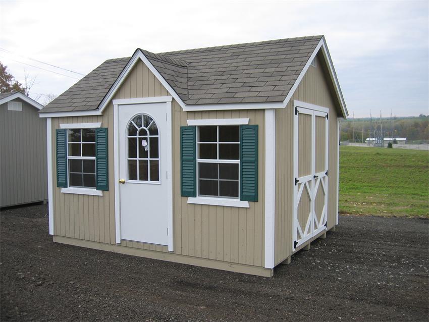 Amish Wood Classic Wood Cottage Shed