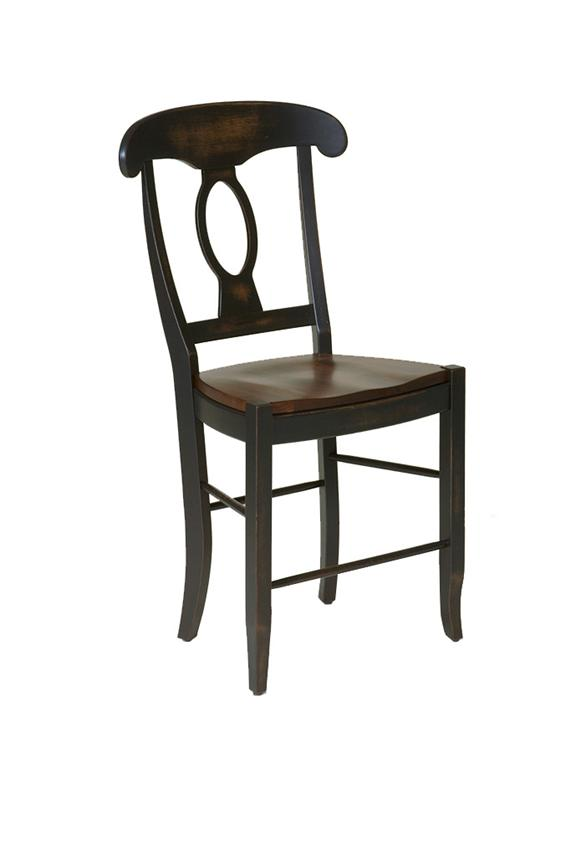 amish napolean bar stool