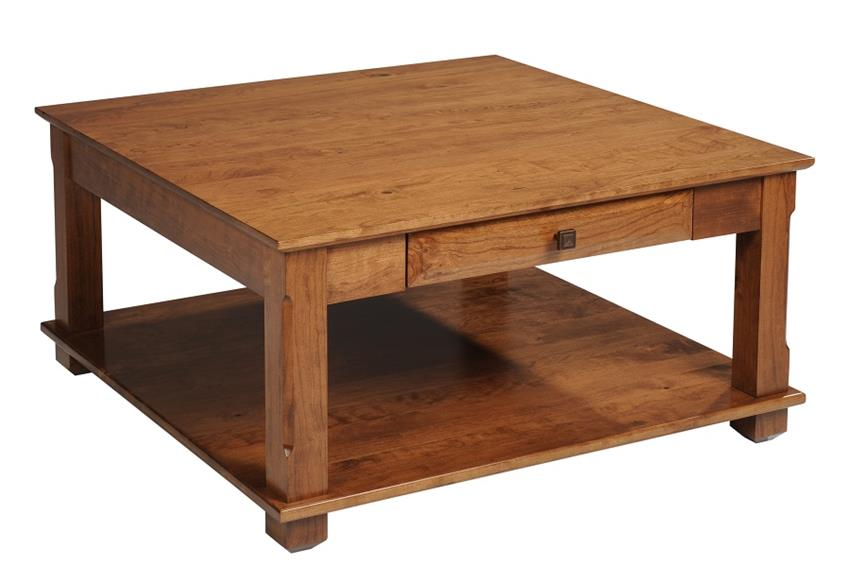 Amish Hampton Square Coffee Table