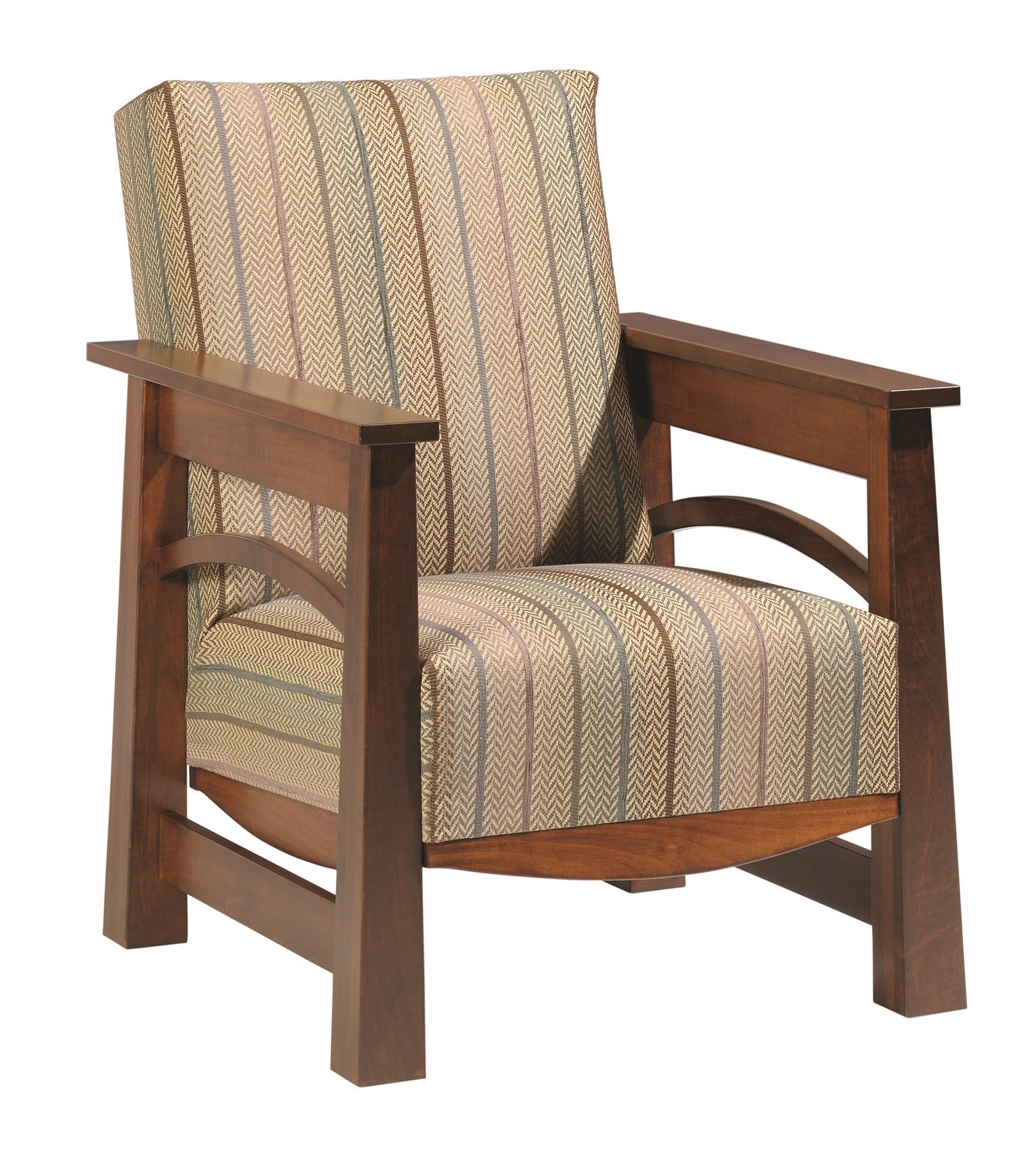 Amish Madison Lounge Chair