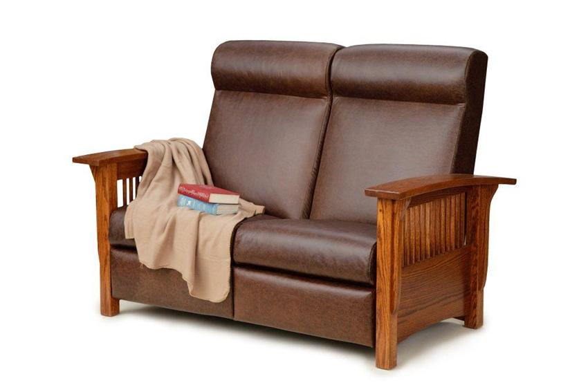 Amish Paradise Mission Reclining Loveseat