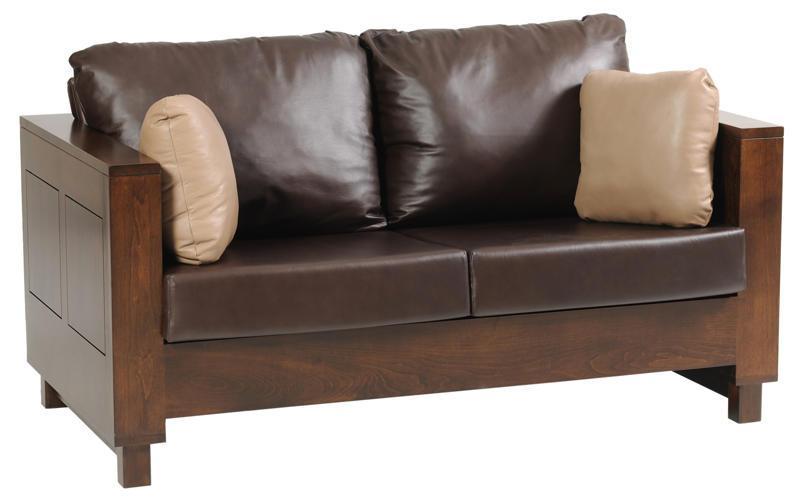 Amish Urban Loveseat Sofa