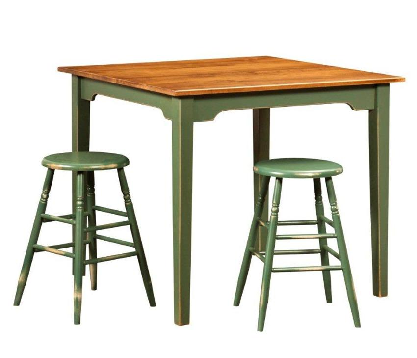 Amish Farmhouse Pub Table