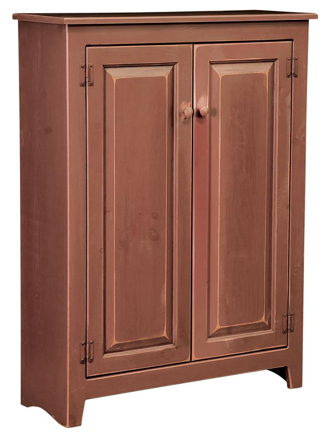 Amish Large Pine Wood Jelly Cupboard