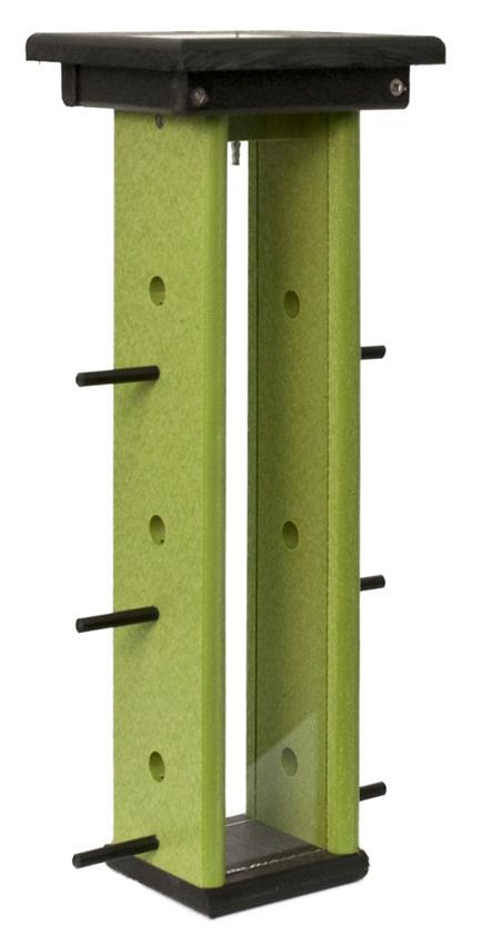 Amish Poly Tall Finch Bird Feeder