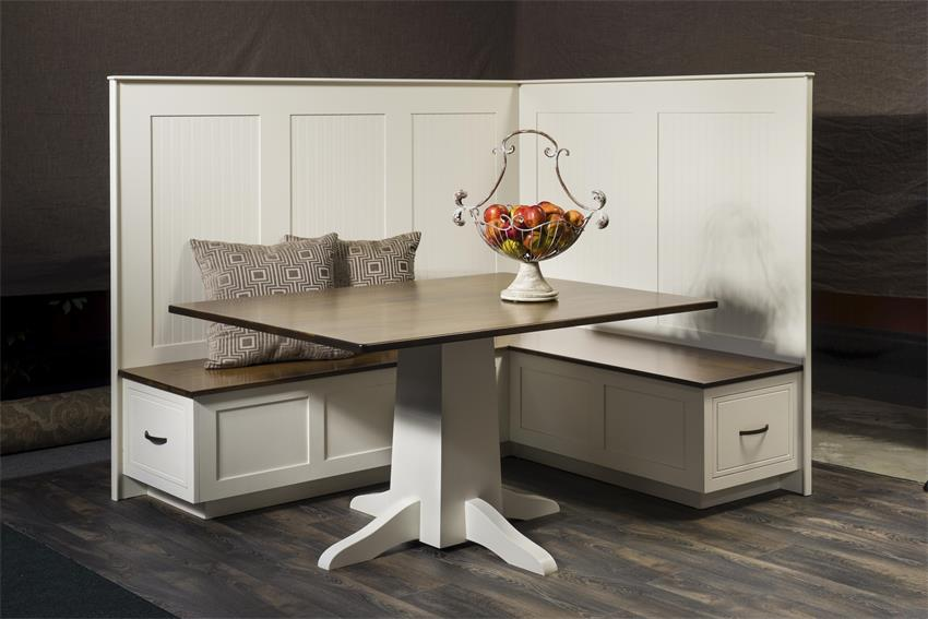 Amish South Haven Kitchen Dining Nook Set