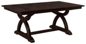 Amish Carmen Trestle Dining Table