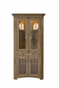 Amish Mission Royal Corner Hutch